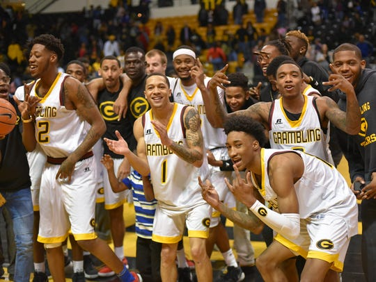 Grambling State men's basketball team has rolled up