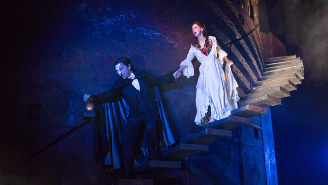 """The Tony Award-winning musical """"The Phantom of the Opera"""" is set to make its way to the Plaza Theatre during the 2016-17 season of Broadway in El Paso, organizers announced Tuesday."""