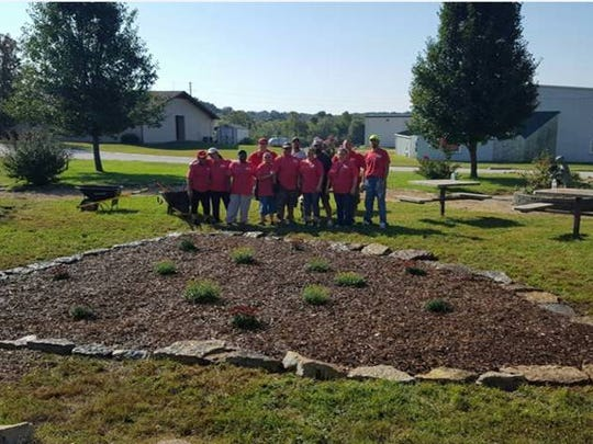 AmeriPride's Springfield branch gave back to its local community in its annual 'Day of Service' by volunteering at the Developmental Center of the Ozarks' 'Wine & Whiskey Walk' and Good Samaritan Boys Ranch