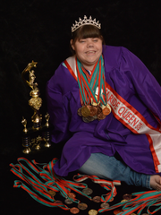 Chy Johnson is an avid athlete who competes in Special