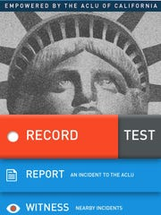 "ACLU chapters throughout the country are releasing apps that help citizens record and save footage of police encounters. The California chapter released its ""Mobile Justice CA"" app last month, and the New Jersey chapter is planning to re-release its app after it fixes some technical issues, a policy expert said."