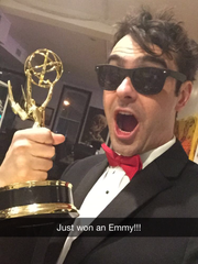Weston Green's solo shot with the Elite Daily Emmy Award