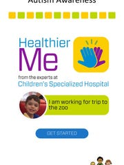 Children's Specialized Hospital has announced the launch of Healthier Me, the first and only mobile app that promotes health, nutrition, fitness and safety for children and teens with autism.