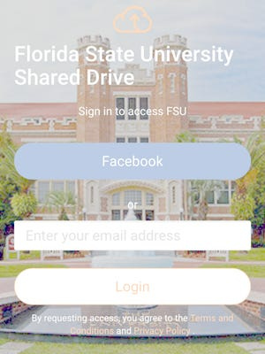 The drive shows everything related to FSU classes, making it easier for students to find what they need.