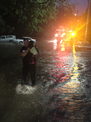 There was a rescue from a home on Central Ave that