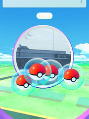 The PokeStop near the St. Cloud Times' offices.