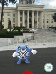 Poliwhirl at the Capitol.