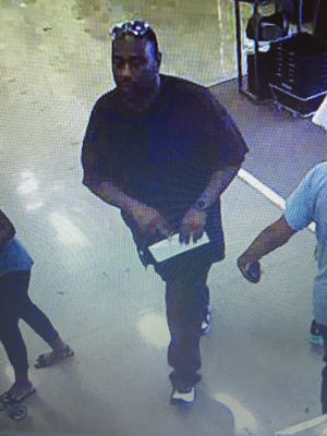Monroe Police Department is looking for help in identifying this man who is the suspect in a forgery case.