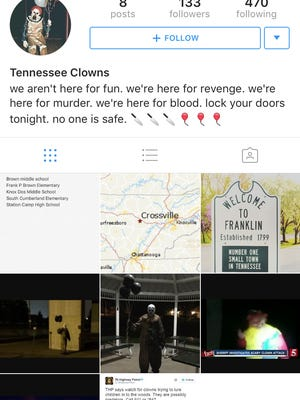 This Instagram account posted a list of schools it claims it will attack.