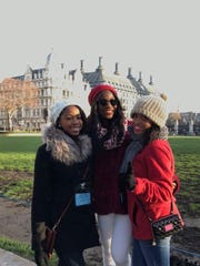 Three cheerleaders from Carver High School were selected to cheer in London's New Year's Day Parade.