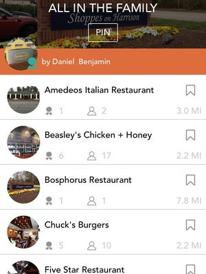 The CurEat app allows diners  to find independently-owned restaurants based on recommendations from friends and local community and culinary-minded folks.