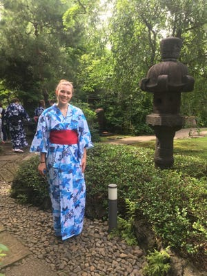 Isabel Swatowski from J.P. Stevens High School in Edison was among 14 students to experience the Japanese Exchange Program.