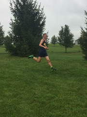 Greencastle-Antrim's Evan Shatzer competes in a middle