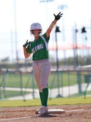 Wall High School's Kenzee Smith will continue her softball career at Sul Ross.