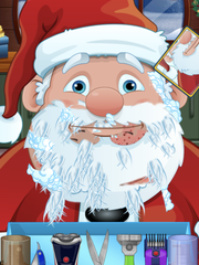 Shave Santa was a silly app that lets kids customize