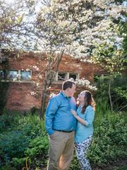 Alyssa Miller and Matt Sturgis