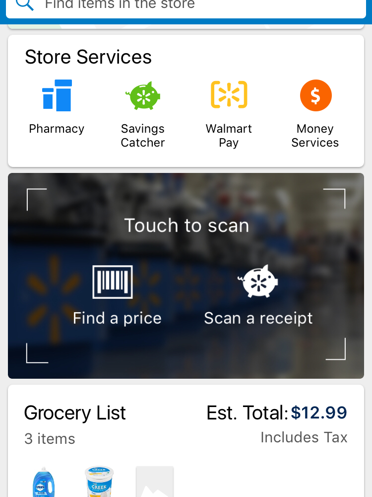 online grocery list with prices