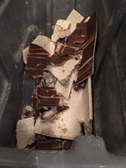 Heavy rains damaged the General Sessions division 9 courtroom in Memphis this week