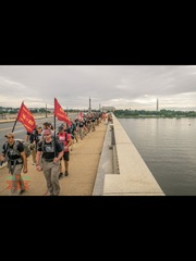 Ruck to Remember is a 60-mile hike over Memorial Day