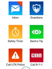 Rave Guardian is a mobile app with safety features