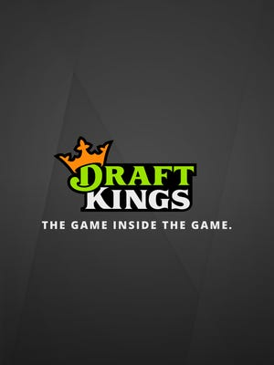 A screenshot of the launch screen of the DraftKings mobile app for iPhone.