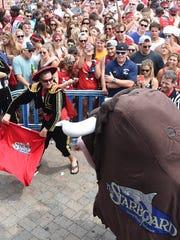 Run with the bull in Dewey Beach. therunningofthebull.com