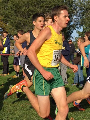David Mitter of Howell has qualified for the Mid-East Meet of Champions cross country meet, placing sixth in the qualifier.
