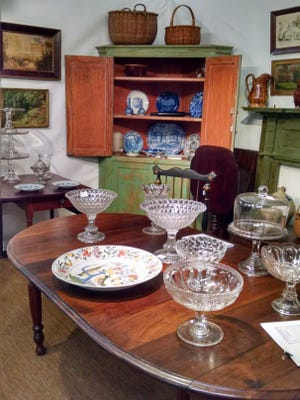 A variety of dealers and exhibitors will be featured at Fall Antiques at Rhinebeck Show and Sale this weekend.