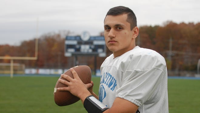 Rich Stanzione has made a major impact on both sides of the ball for Williamstown this season.