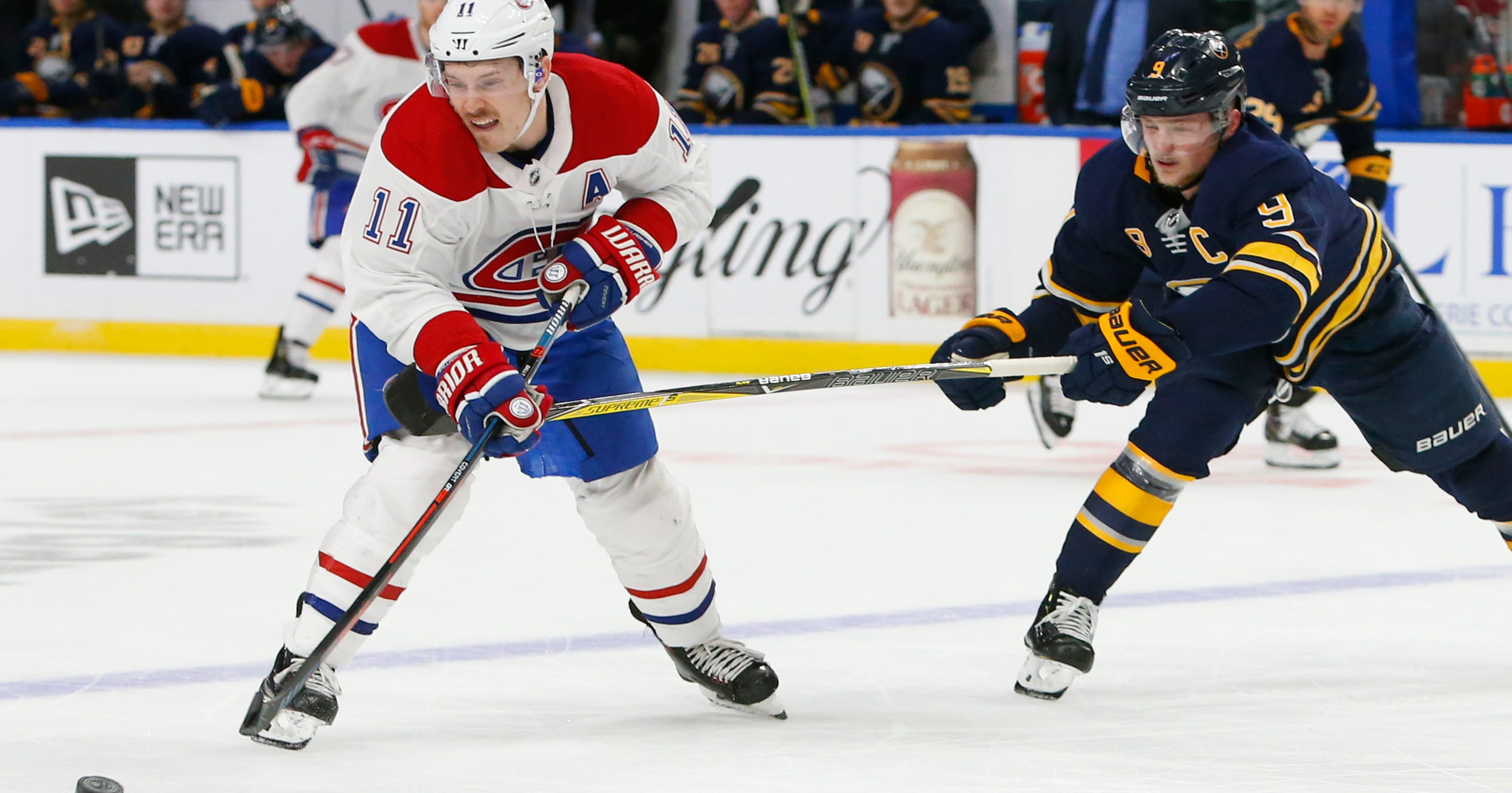 88354010cce Sabres beat Canadiens 3-2 for 8th straight win