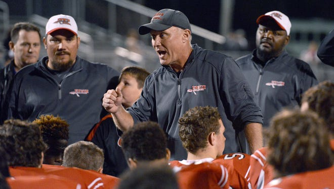 Erwin coach Mike Sexton and the Warriors are home for next week's start to the 3-AA football playoffs.