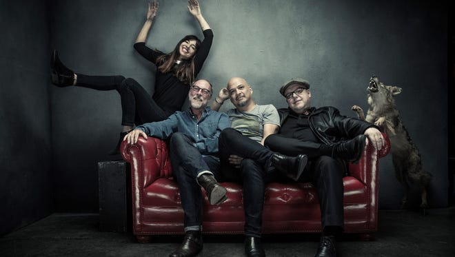 Famed alternative rock band the Pixies will perform at Hoyt Sherman Place in Des Moines on July 3.