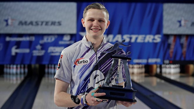Holly native Andrew Anderson recently won the 2018 USCB Masters in Syrcause, N.Y.