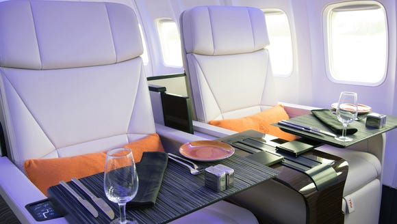"The ""Four Seasons Private Jet"" is a Boeing 757 overhauled"