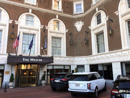 The Westin Poinsett hotel in Greenville
