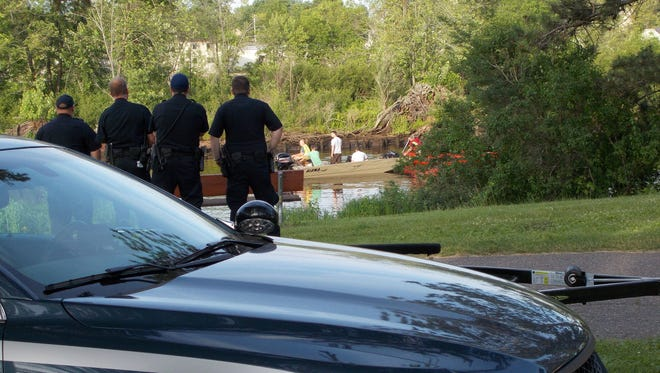 A boy drowned in the Wisconsin River on Sunday while swimming near Otts Park.