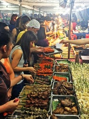 Mercato Centrale is a popular street food market in