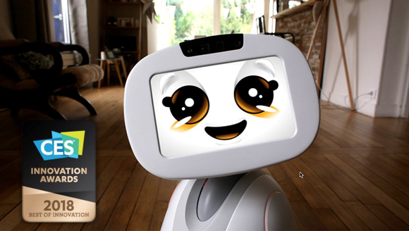 Buddy, a personal robot, has been named one of the