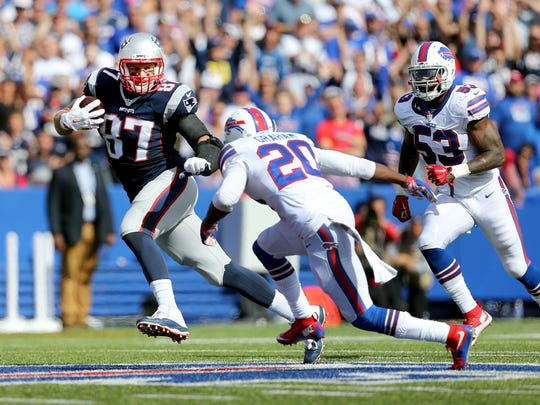 Safety Corey Graham is just one of several 2016 starters who won't be back in Buffalo.