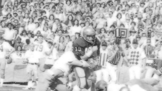 FSU receiver Kurt Unglaub (1976-80) had 69 career receptions for 1,261 yards and 10 touchdowns