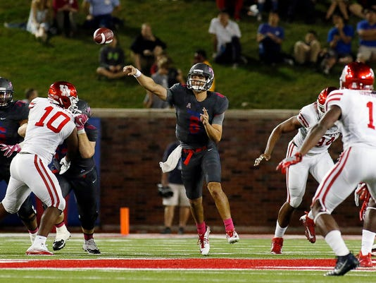 NCAA Football: Houston at Southern Methodist