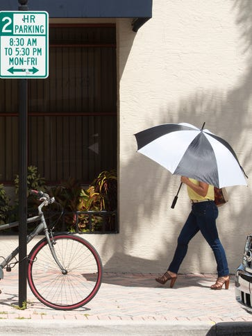Fort Pierce began enforcing two-hour parking in downtown