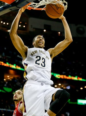 Pelicans power forward Anthony Davis will play in the All-Star Game in his home arena.