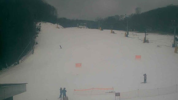 Current conditions at Cataloochee Ski Area in Haywood