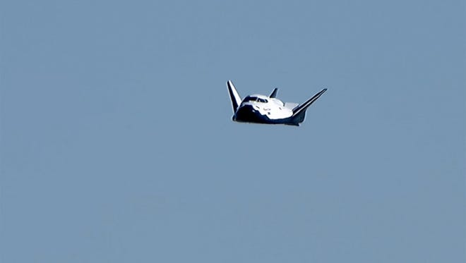 A prototype Sierra Nevada Corp. Dream Chaser on Saturday completed a drop test at Edwards Air Force Base in California. The company hopes to launch an unmanned Dream Chaser from Florida to the International Space Station in 2020, and return from space to a landing at Kennedy Space Center's former shuttle runway.