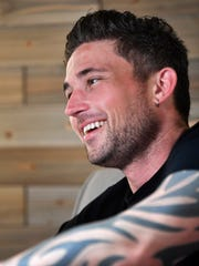 Michael Ray grew up playing in a band with grandfather. Several No. 1 hits later, he's named his next album after him.Wednesday May 23, 2018, in Nashville, Tenn.