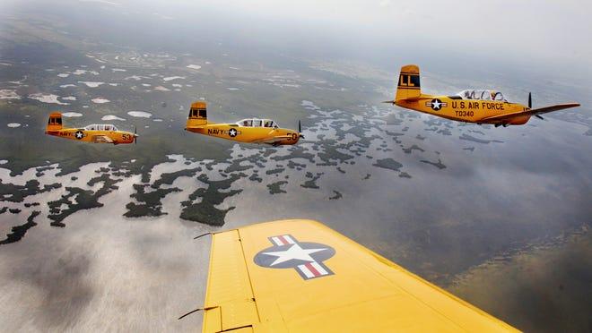 The Florida International Air Show was canceled Thursday evening.