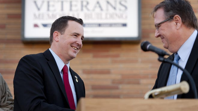California Assemblyman Devon Mathis.