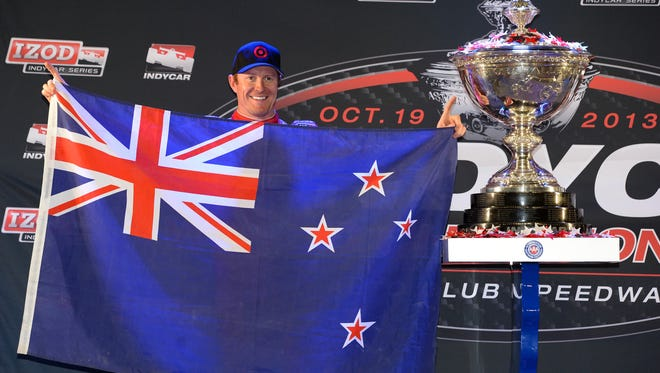 Scott Dixon won his third IndyCar Series championship in October.