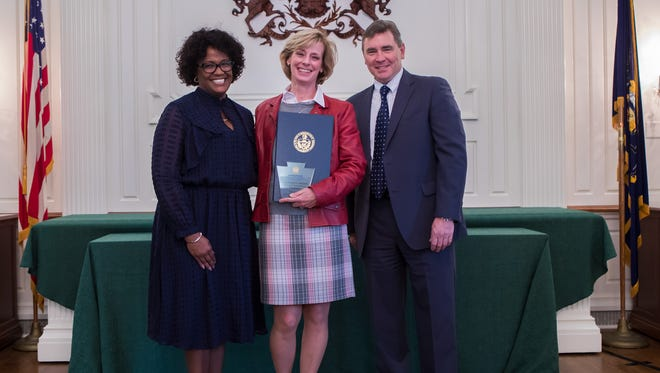 York County Planning Commissioner Director Felicia Dell was honored by the state for her work in York County. (Submitted/photo)
